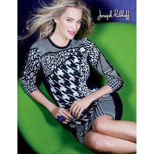 Stunning Joseph Ribkoff Multi Pattern Dress